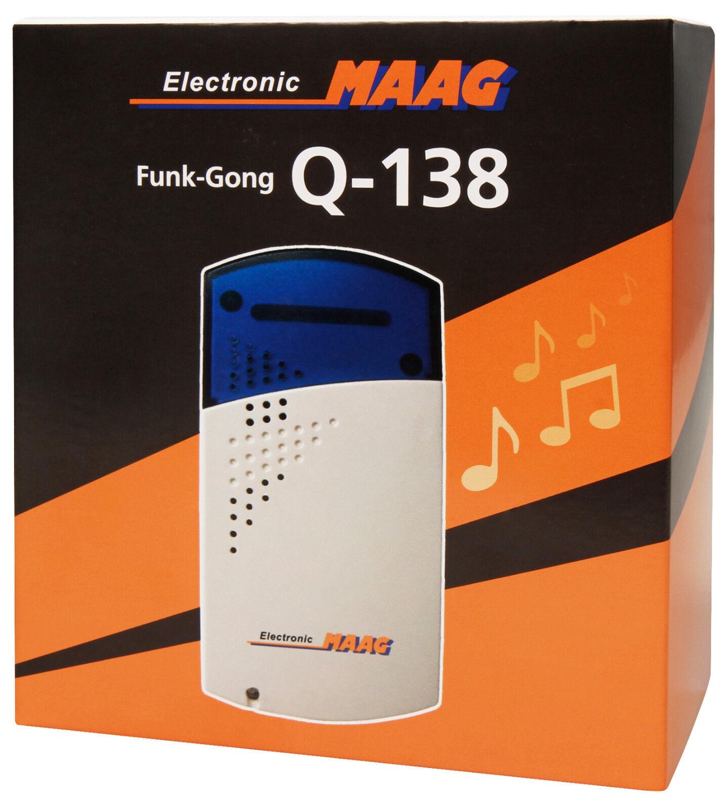Zusatz Klingel für Klingel Erweiterung von Maag Electronic Funk  35 Melodien