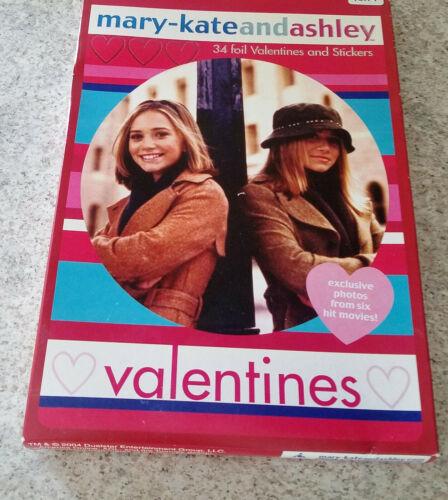 Rare vintage Mary-Kate and Ashley Olsen Foil Valentine