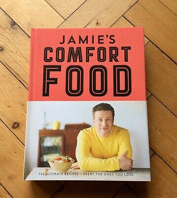 Jamie Oliver Cook Book Comfort Food