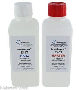 SONDERPREIS 1.6 kg E45T Epoxidharz Versiegelung Terrarium Aquarium dünnflüssig