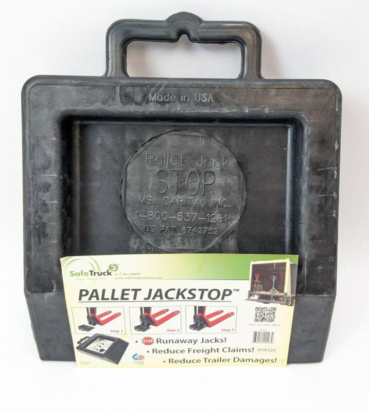Safe Truck PJS101 Black Pallet Jack Stop NEW