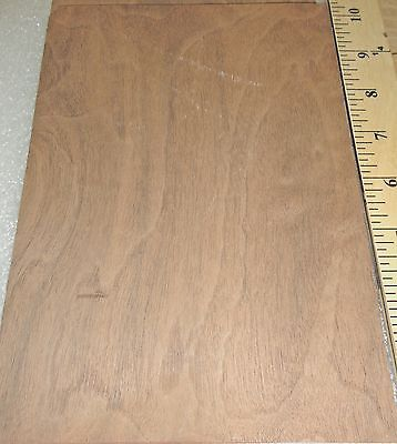 Walnut Burl Wood Veneer 6 X 9 With Paper Backer 140th Thickness A Grade