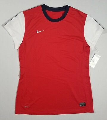 d5747f785af NIKE Womens #12 Short Sleeve Soccer Jersey | Red/Navy/White | Md | 456238 |  NWT