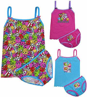 Girls Pyjama Set - Girls 2 Piece Pyjama Set Kids Underwear Vest Top Briefs Set Years 2 3 4 5 6 8 Yr
