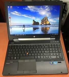 HP Elitebk 8570w Core I7 3rd gen @2.70ghz 24gb ram 240gbssd and 1Tb hd
