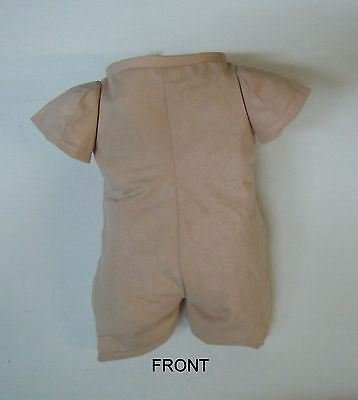 "Doe Suede Body for 19""-21"" Dolls 3/4 Jointed Arms Straight Legs #1273SL"