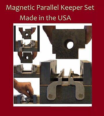 Magnetic Parallel Keepers Milling Machine Cnc Kurt Vise Bridgeport Haas Tooling