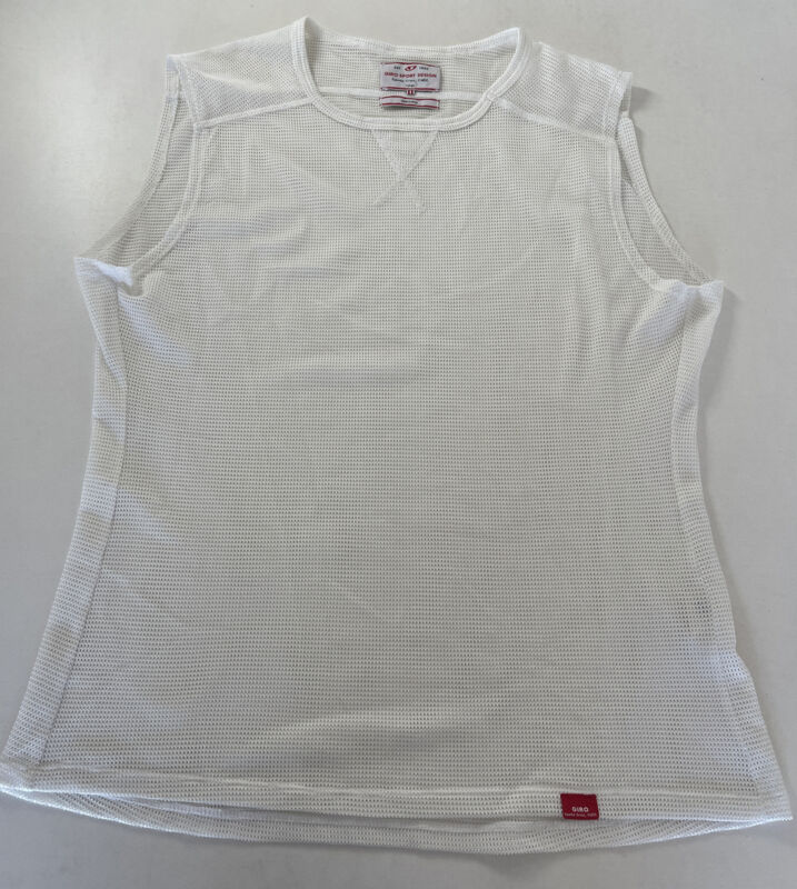Giro Road Mesh Base Layer-off-white Cycling  Large Foundation Read Description