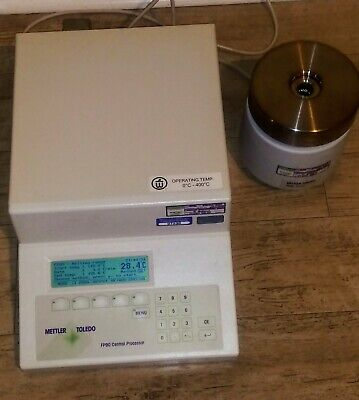 Mettler Toledo Thermal Analysis Processor Fp90 Fp85ht Melting Point Apparatus