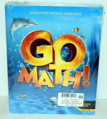 Math Practice Book - GO Math!: Student Edition & Practice Book Bundle Grade K 2012  HOUGHTON MIFFLIN