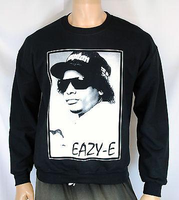 Classic Crewneck Sweatshirt - Eazy E Sweatshirt Crewneck Classic Gangster Rap Compton West Coast Los Angeles