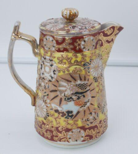 Antique Chinese Porcelain Tea Pot Signed