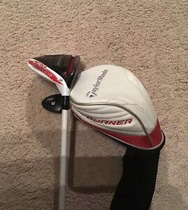 Taylormade Aeroburner 3 Wood - R Flex - Golf Pride Grip