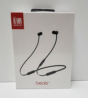 Beats by Dr. Dre BeatsX Wireless Neckband In Ear Earphones - Black (Sealed)