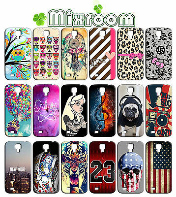 CUSTODIA COVER MORBIDE IN TPU PER SAMSUNG GALAXY S4 MINI I9190 I9195 FANTASIE C