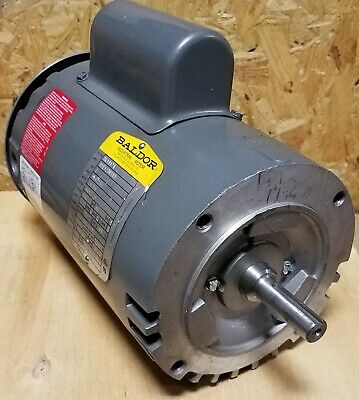 New Baldor 2 Hp Single Phase Motor Vl1317a  58 Dia Shaft 115230 Volt