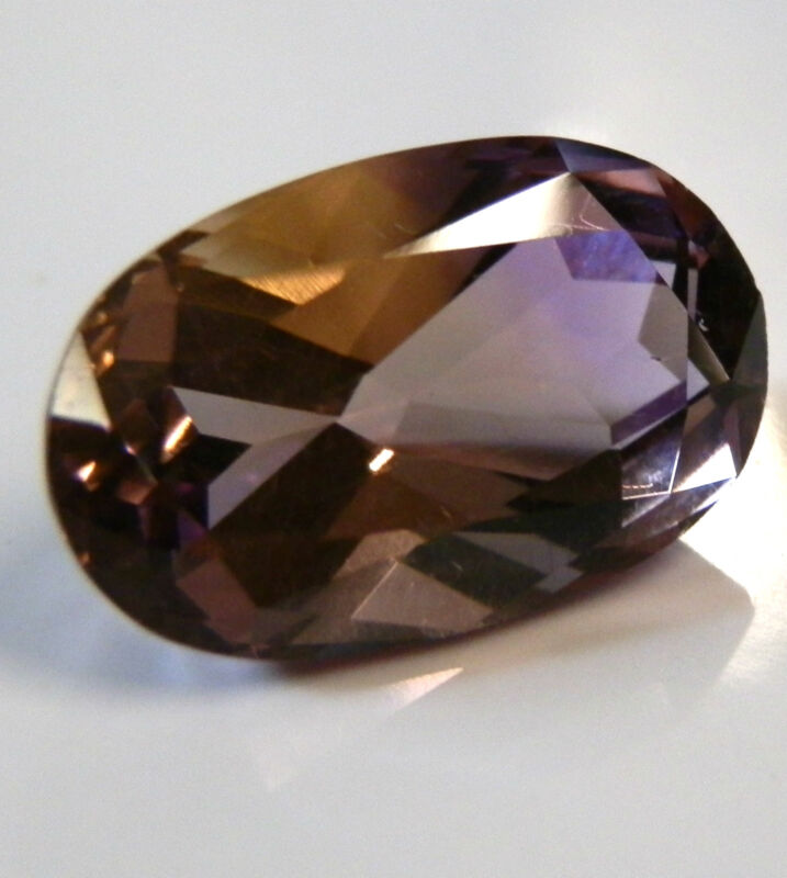 Natural Ametrine.. quality oval gem..7.1 Carat