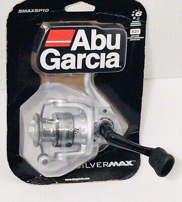 Abu Garcia Silver MAX Spinning Reel SMAXSP10-C