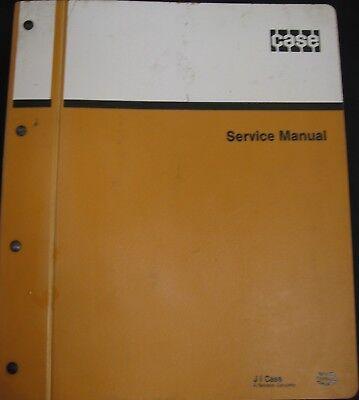 Case 580k Tractor Loader Backhoe Service Manual
