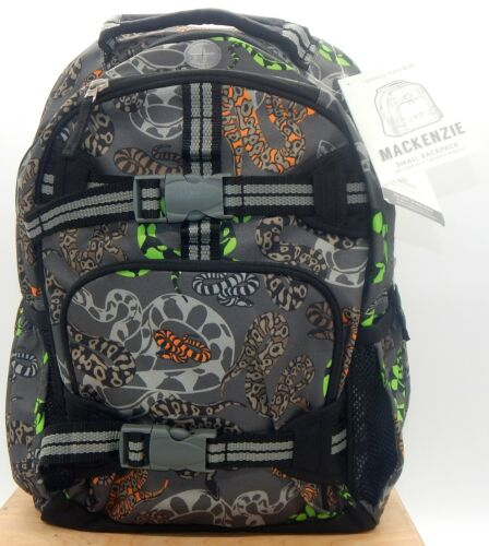 Pottery Barn Kids Mackenzie New With Tags Snakes Water Repels Small Backpack