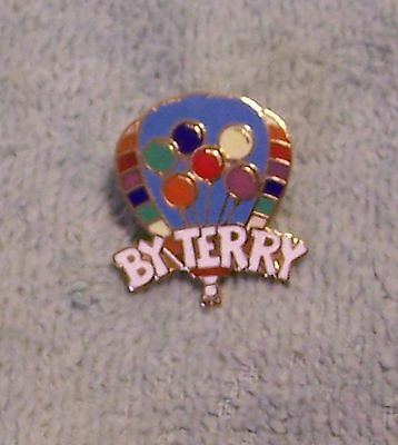1987 BY TERRY BALLOON PIN