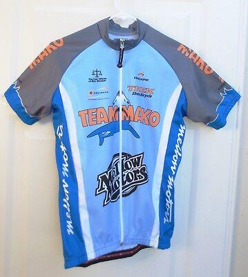 Cycling Jersey - Hincapie - Men s Size Small - Full Zip Short Sleeve - Team  Mako bf0be55a3