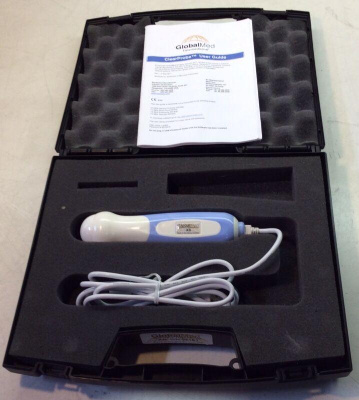 Globalmed ClearProbe Clear Probe 3.5 mhz USB AB Abdominal Ultrasound Probe