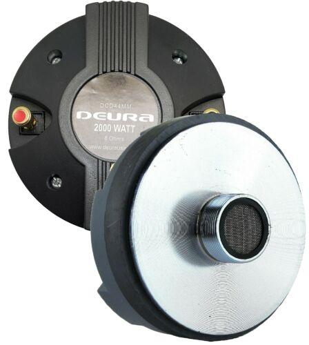 "DEURA®2000W 44MM 1.75"" Titanium Compression Driver Screw-on Horn Speaker Tweeter"
