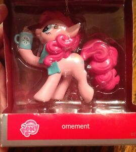 MY LITTLE PONY CHRISTMAS ORNEMENT. HASBROAND IT'S LOGO MLP