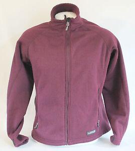 rei women 39 s casual outdoor travel fleece jacket coat size l used ebay On travel fleece jacket