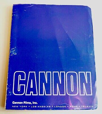 Original Charles Bukowski Cannon Films 1986 Barfly Shooting Script / Screenplay