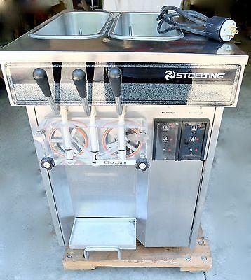 Stoelting E131-38 Soft Serveyogurt Freezertwist Ice Cream Machine Maker1ph