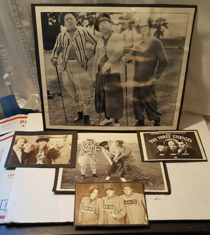 Lot Of Five Three Stooges Pictures