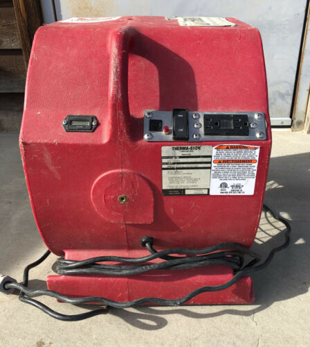 Phoenix  Axial Air Mover/Dryer  Red, Model 4025200