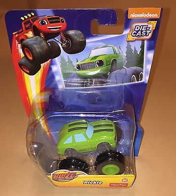 Fisher-Price Blaze and the Monster Machines Pickle Die-Cast Toy Vehicle New (Monster Machine)