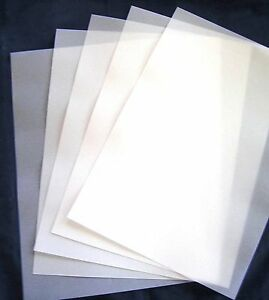 VELLUM  A4 112gsm (20) Translucent Paper 210mm x 297mm Scrapbooking Weddings New