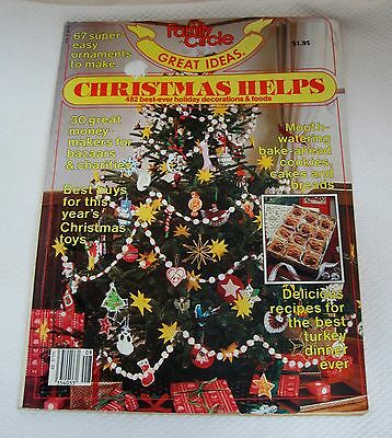 1982 Family Circle Great Ideas Christmas Helps 482 Best Ever Holiday (Best Christmas Ideas Ever)