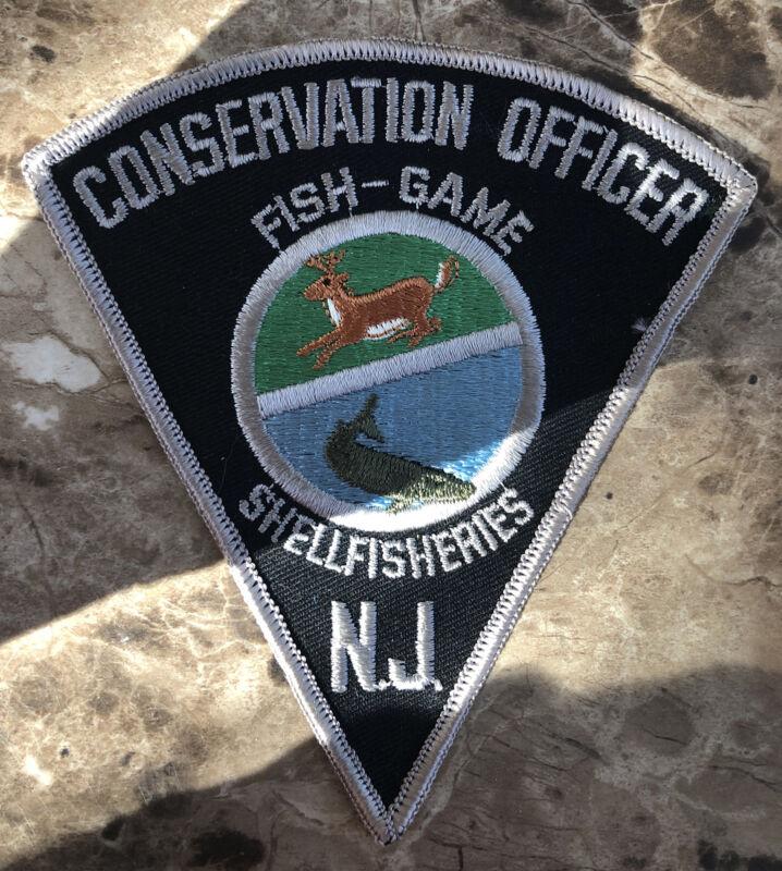 NJ Conservation Officer Fish & Game Shellfisheries Police Shoulder Patch
