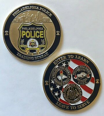 Philadelphia Police Department Training Bureau Ice Evoc Firearms Unit 2  Coin