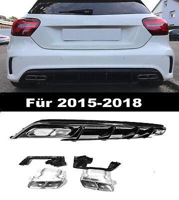 A 45 AMG Heckdiffusor Heckschürze Für Mercedes-Benz A-Klasse W176