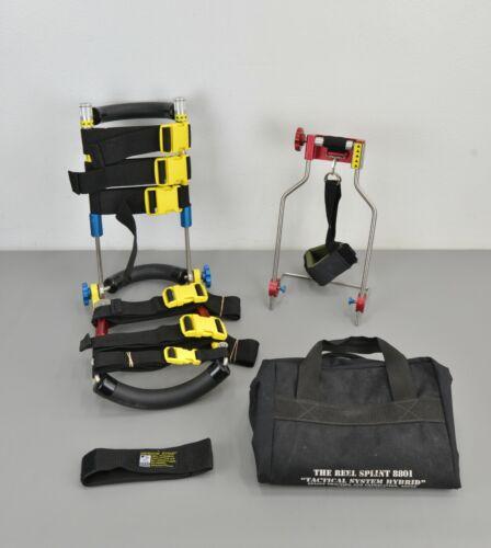 Reel Splint 8801 Tactical System Hybrid Adult Splint Traction & Extraction