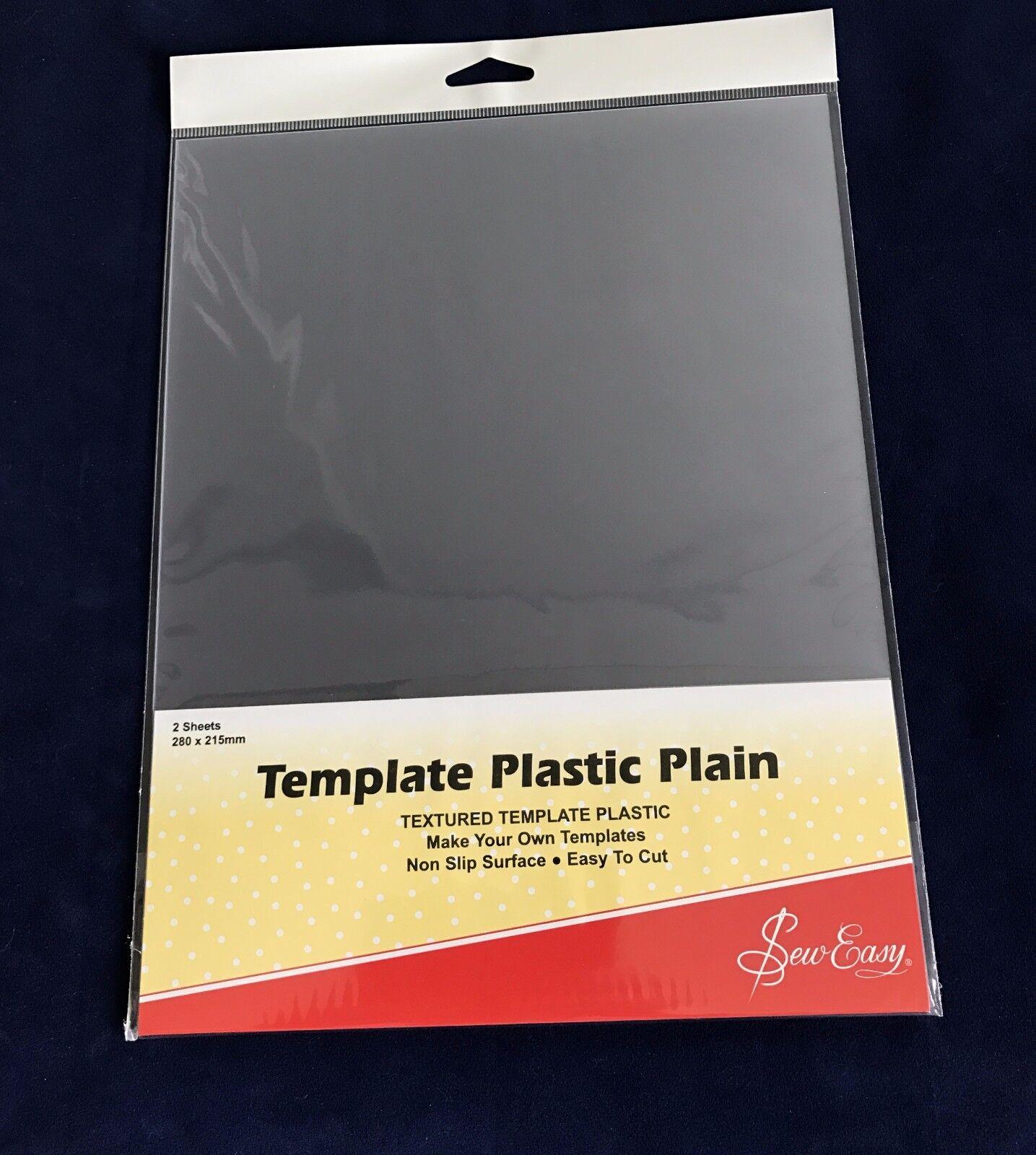 Sew Easy Template Plastic Plain Textured Non Slip Easy Cut - Make ...
