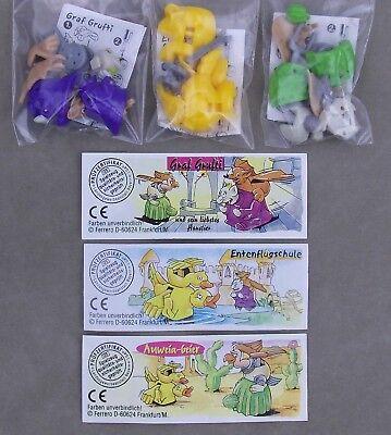 Überraschungsei rollende Halloween Figuren 2001 Auswahl UeEi - Halloween Figuren