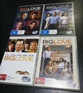 """DVD's: """"Big Love"""" Complete Seasons 1/2/3/4 Mayfield West Newcastle Area Preview"""