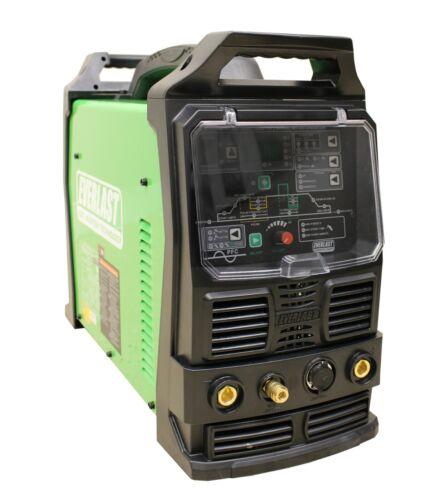 2021 PowerTIG 210EXT 110/220 200AMP ACDC TIG STICK ADVANCE PULSE WELDER EVERLAST