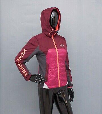 KARI TRAA Jacket Hooded Fleece Lined S
