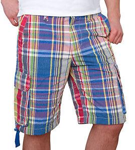 Hombre-cargo-bermudas-Shorts-karoshorts-cortos-Pantalones-Chinos-Verano