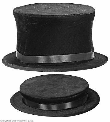 Klassischer Klappzylinder in Schwarz für Erwachsene - Klapp Zylinder