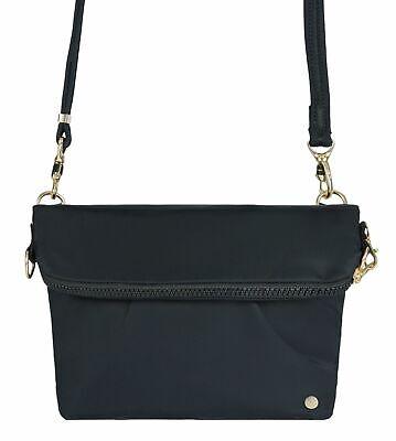 Convertible Schulter Tasche (pacsafe Citysafe CX Convertible Crossbody Umhängetasche Schultertasche Black)