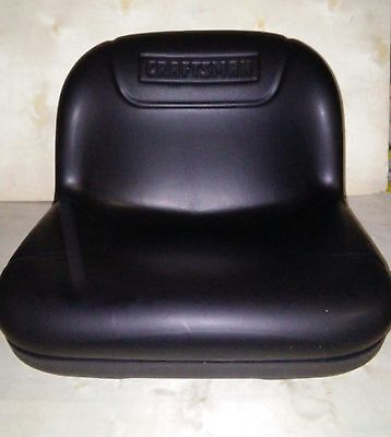 NEW! CRAFTSMAN OEM RIDING MOWER SEAT- #586507601- POULAN HUSQVARNA AYP-FREE S&H!